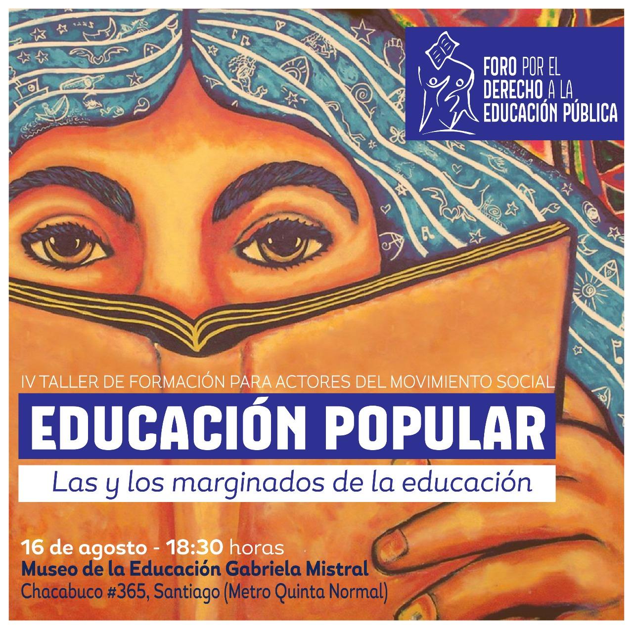 IV Taller de Formación para actores del movimiento social: Educación Popular
