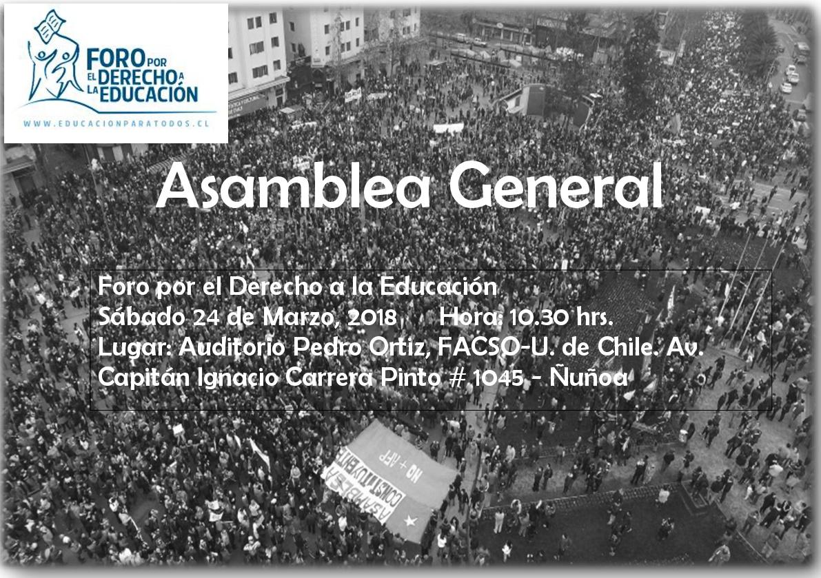 II Asamblea General – 2018