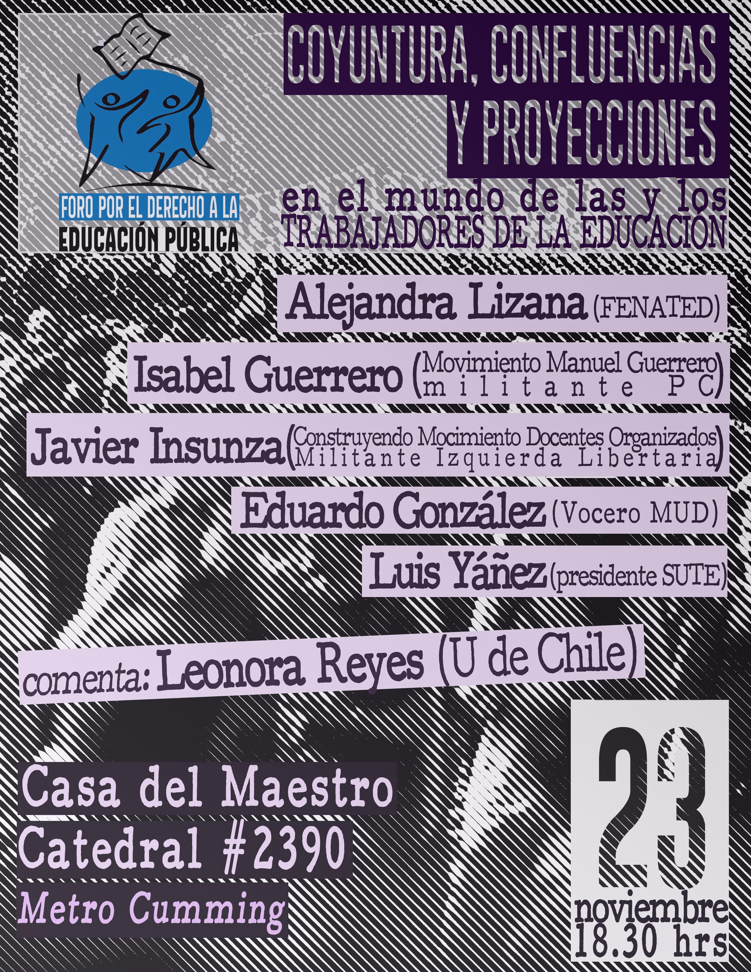 """VI Jornada de Formación """"Las organizaciones de las y los trabajadores de la educación en Chile"""""""