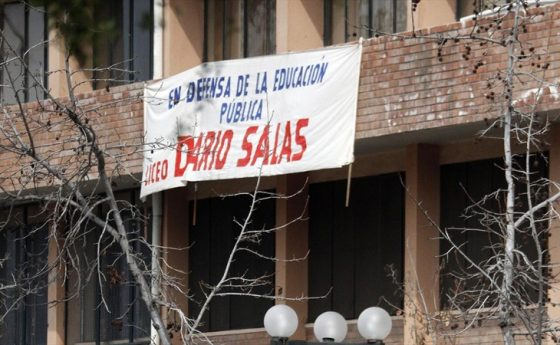 Declaración de estudiantes de base Liceo Darío Salas