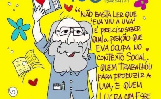 """Centenario de Paulo Freire """"Entrevista a José Santis (MUD) en medio brasilero"""" (19 de septiembre)"""