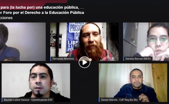 Conversatorio: Propuestas para (la lucha por) una educación pública, comunitaria y popular (15 de septiembre)